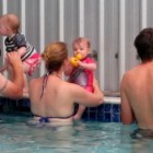 Learn to swim for babies